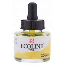 Краска акварельная Royal Talens Ecoline NEW 30мл жидкая 259 Жовта пісочна