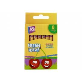 Кольорові олівці для малювання воскової CFS 8цв CF60705 Fresh Ideas