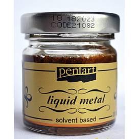 Поталь жидкая Pentart 30мл на основе растворит бронза