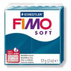 Глина полимерная FIMO Soft 57г 8020-31 синий калипсо