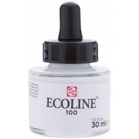 Краска акварельная Royal Talens Ecoline NEW 30мл жидкая 100 Белая