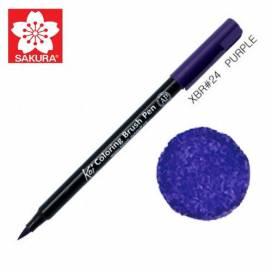 Маркер Sakura KOI Brush акварельный  № 24 пурпурный