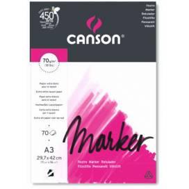 Блокнот для маркерів Canson Marker 70г/м2 A4 70л
