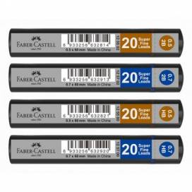 Грифель для мех кар Faber  Grip 125500  0,5 HB
