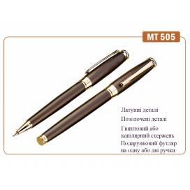 Ручка KrishA+ подарочная капилярная MT-505 металл