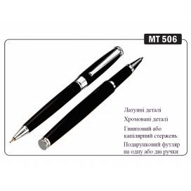 Ручка KrishA+ подарочная шариковая MT-506 металл