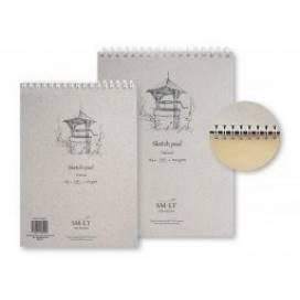 Альбом для ескізів Smiltainis Authentic 100г/м A4 100л натуральний колір ШК...5916