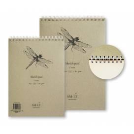 Альбом для ескізів Smiltainis Authentic 80г/м A4 100л кремовий папір ШК...5893