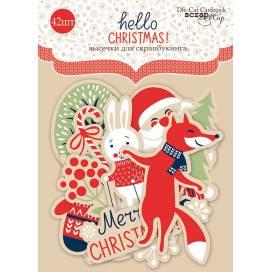 Высечки Scrapmir SM2900014 Hello Christmas 42шт