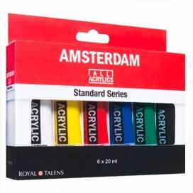 Набор фарб акрилових Royal Talens Amsterdsm Standart 6 кольорів 20мл