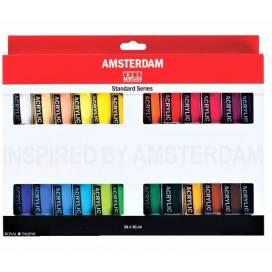 Набор фарб акрилових Royal Talens Amsterdsm Standart 24 кольорів 20мл