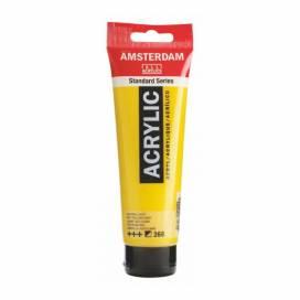 Краска акриловая для живописи и декора RT Amsterdam 120мл 268 AZO Желтый светлый