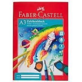 Папка для рисунка Faber формат А3 10л 100г/м2 212047