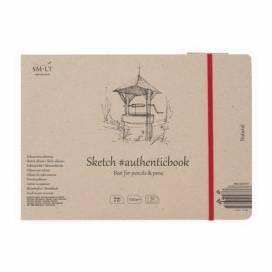 Альбом для ескізів Smiltainis Authentic 100г/м A5 32л натуральний колір