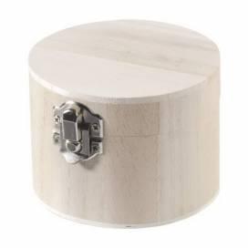 Заготовка Knor Prandell дер Шкатулка круглая 9,5х7см с замком ШК...5802