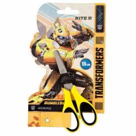 Ножницы детские Kite TF19-123 Transformers 13см с резин. вставками