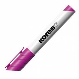 Маркер для доски Kores K20832 1-3 мм, розовый