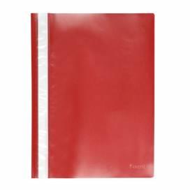 Скоросшиватель Axent А4 1317-24-A 50л пластик красный