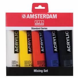 Набор акриловых красок для творчества Royal Talens Amsterdsm Standart   5 цветов 120мл