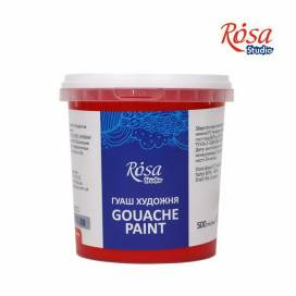 Фарба гуашева Rosa Studio 500мл Червона