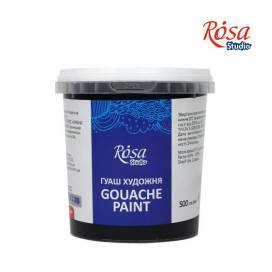 Фарба гуашева Rosa Studio 500мл Чорна