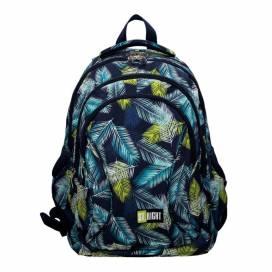 "Рюкзак (ранец) школьный ST.RIGHT BP-02 Tropical Leaves 17"" 4отдела 622830"