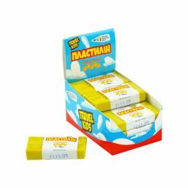 Пластилін для ліплення Gamma UA восковий 30гр Жовтий 333107