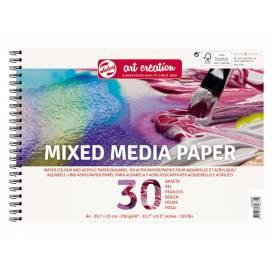 Альбом для микс-медиа Royal Talens Art Creation 250г/м A4 30л спираль