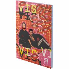 Блокнот Kite А5 64лістов VIS19-193-2 Время и Стекло мягк.обложка термобиндер кольорова блок (записна книжка)