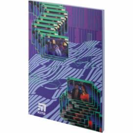 Блокнот Kite А5 64лістов VIS19-193-4 Время и Стекло мягк.обложка термобиндер кольорова блок (записна книжка)
