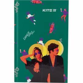 Блокнот Kite А6 80лістов VIS19-199-1 Время и Стекло тверд.обложка клітинка (записна книжка)