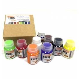 Набор красок для ткани Kreul Javanna KR-90500ЛХ Sunny по светлым тканям 9цв 20мл
