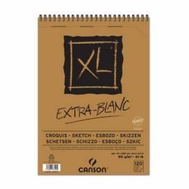 Альбом для эскизов Canson XL Extra White 90г/м А5 60л спираль ШК...8694