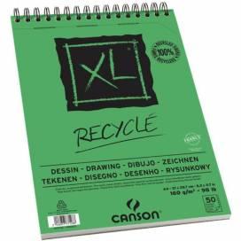 Альбом для эскизов Canson XL Recycled 160г/м А4 50л спираль