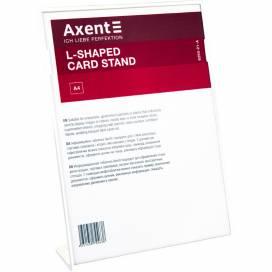 Табличка информационная Axent белая А4 6250-21 L-образная