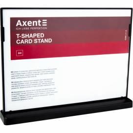 Табличка информационная Axent чёрная А4 6265-01 горизонтальная