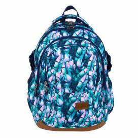 Рюкзак (ранец) школьный ST.RIGHT BP-01 BLUE LEAVES 625589