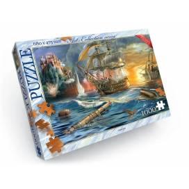 Пазлы Danko Toys C-1000-08-09 1000эл. Битва на море