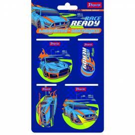 Закладки 1Вересня магнитные 707392 Street race 4 шт