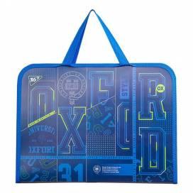 Портфель YES пластик с ткан ручками 491793 Oxford