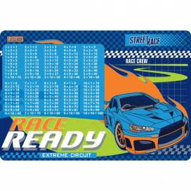 """Подложка на стол 1Вересня 491863 """"Street race"""" (табл.Умножения)"""