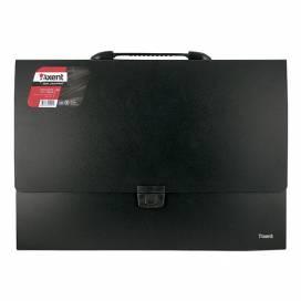 Портфель пластик Axent 1611-01-A А3 1отд чёрный