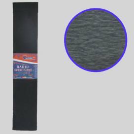 Бумага гофрированная Josef KR-110-8019 Чёрный