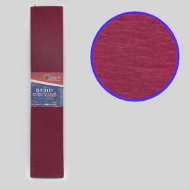 Бумага гофрированная Josef KR-110-8002 бордовый