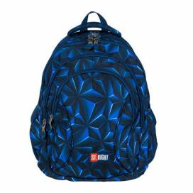Рюкзак (ранец) школьный ST.RIGHT BP-02 3D NAVY ABSTRACTION 625671