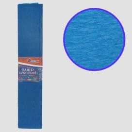 Бумага гофрированная Josef KR-110-8008 Темно-голубой