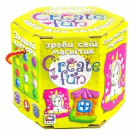"""Пластилиновая паста Окто 70030 набор воздуш. пласт. """"Moon Light Clay"""" Create fun Сувенир"""
