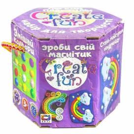 """Пластилиновая паста Окто 70028 набор воздуш. пласт. """"Moon Light Clay"""" Create fun Магнит"""