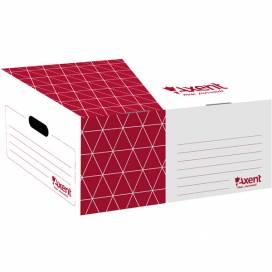 Короб Axent для архивных боксов красный 1734-06-A