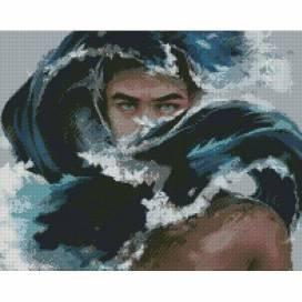 Алмазная живопись Идейка 40*50см АМ 6142 Аквамен